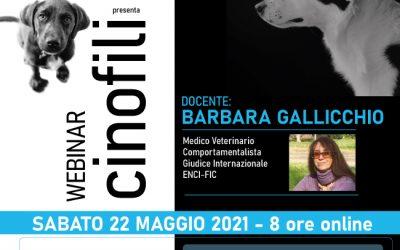 """Webinar """"Motivazioni di Razza"""" con Barbara Gallicchio"""